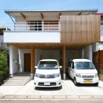 開放的でシンプルモダンな自然素材のデザイン注文住宅