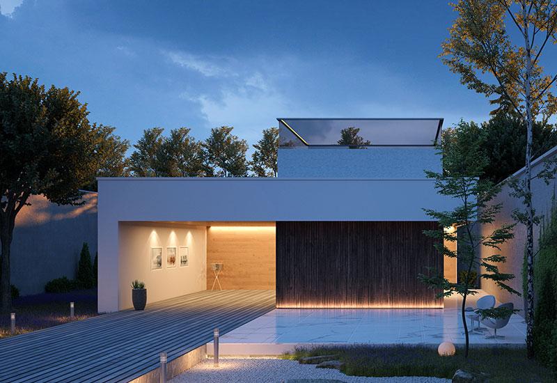 理想の家の外観